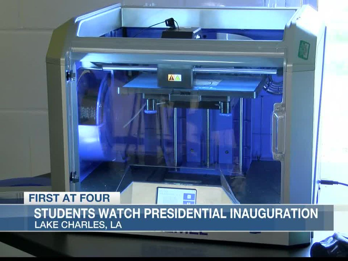 Students build 3D White House following Inauguration