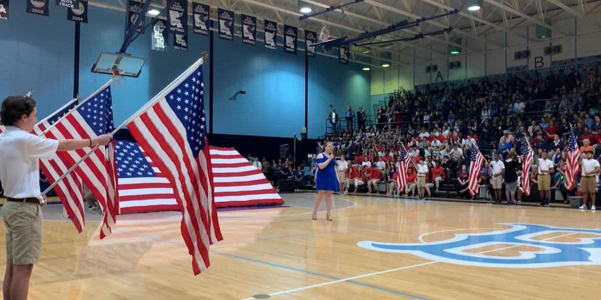 Barbe teacher keeps veterans program going