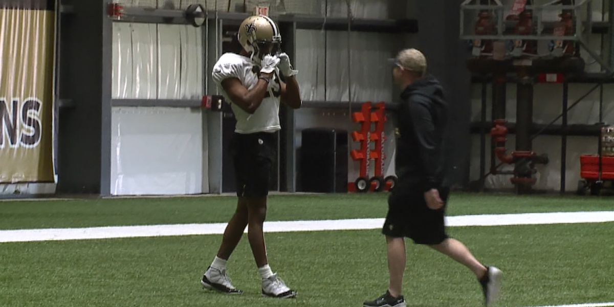 Michael Thomas returns to Saints practice