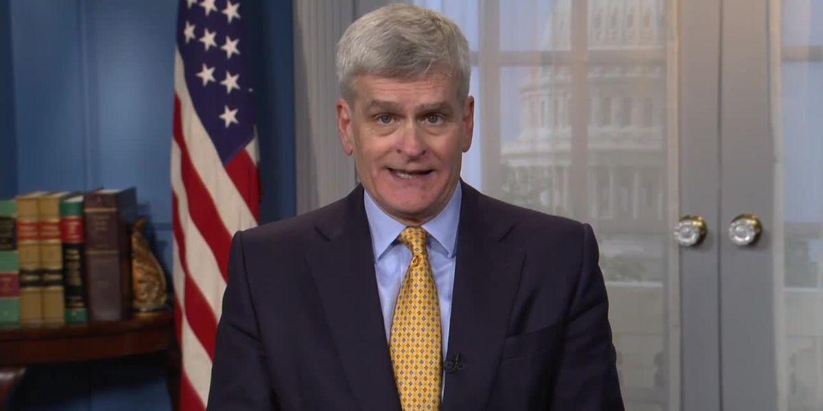 La. Senator Cassidy speaks on impeachment trial, minimum wage proposal