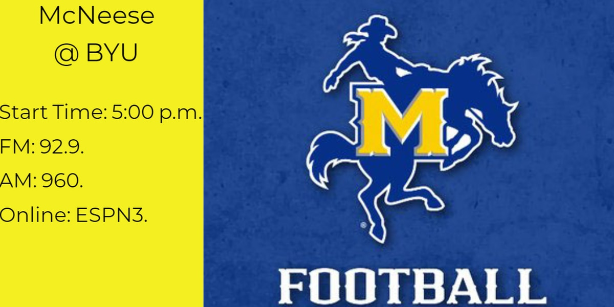McNeese takes on BYU for the first time