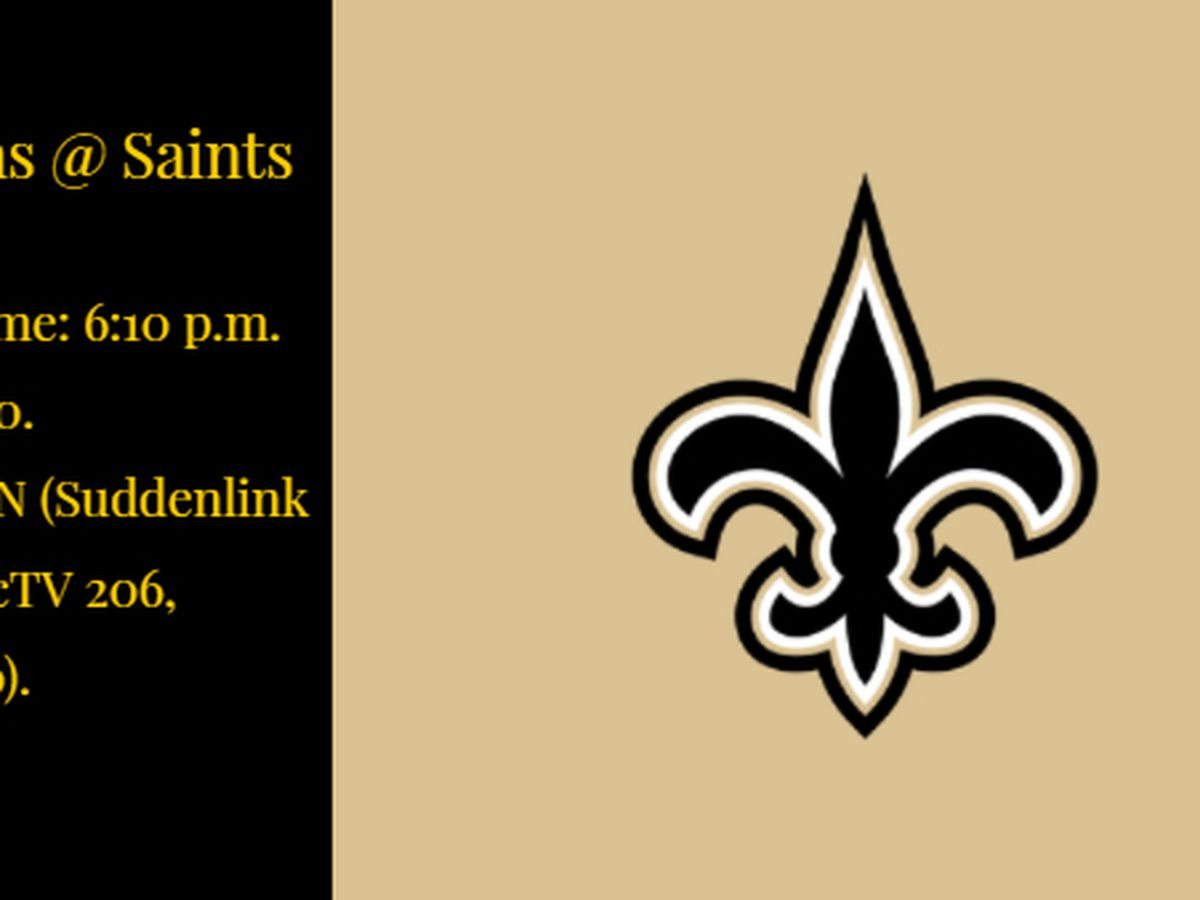 Saints looking for first win in season-opener since 2013