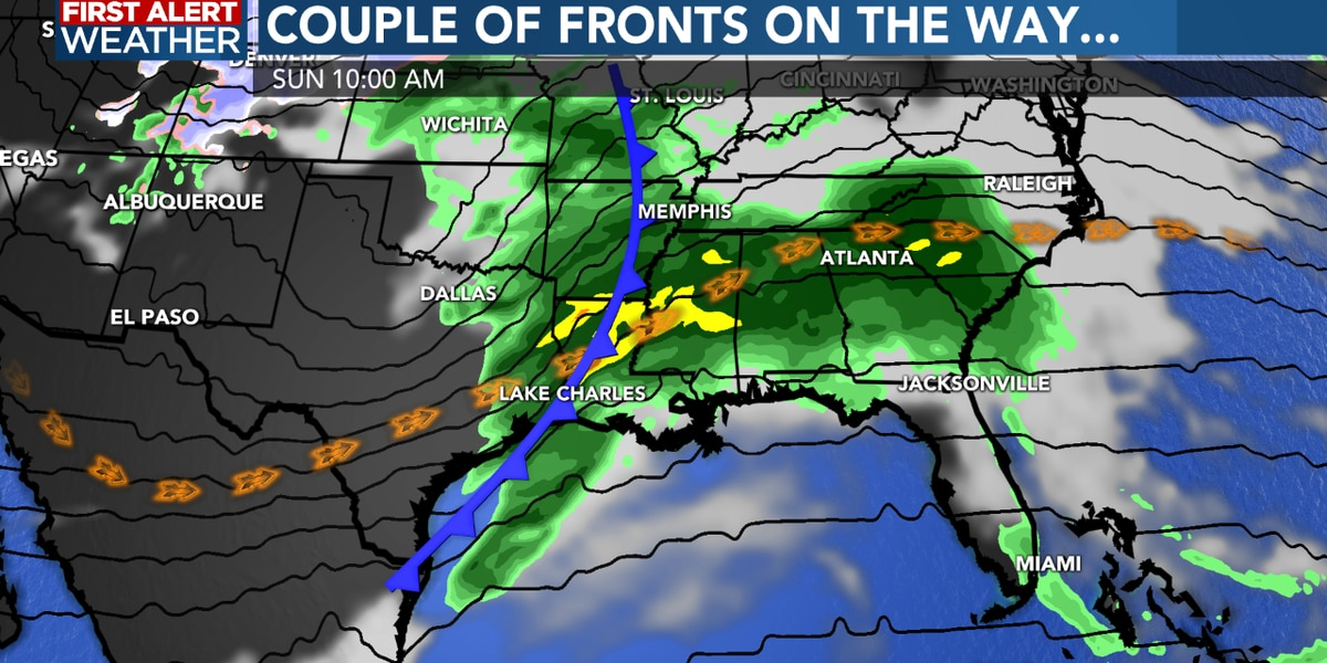 Tornadoes, storms hit multiple Southern states