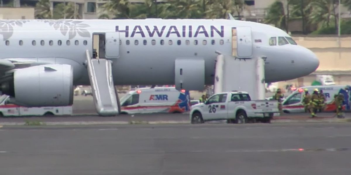 Hawaiian Air finds engine problem caused smoke to fill plane, forcing emergency landing