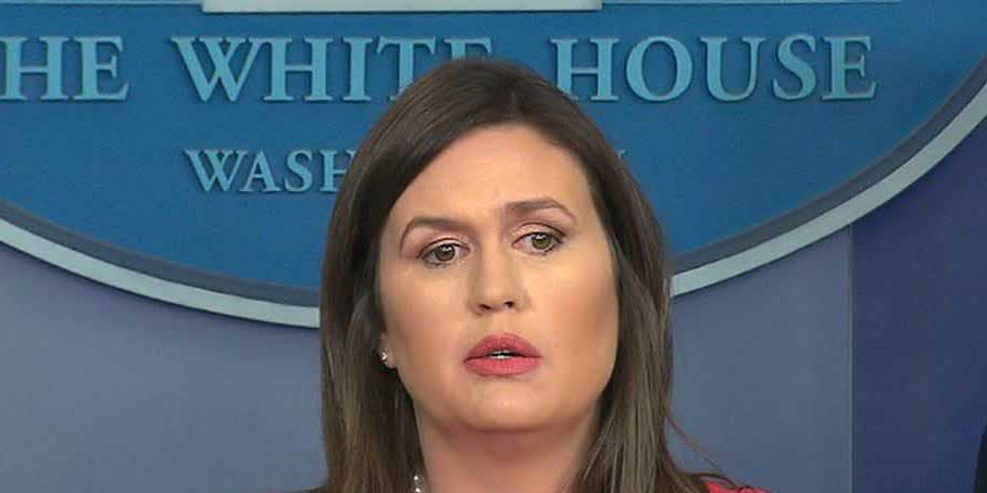 White House spokeswoman Sarah Sanders says special counsel's team interviewed her