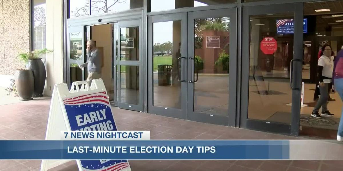 Last minute tips ahead of election day