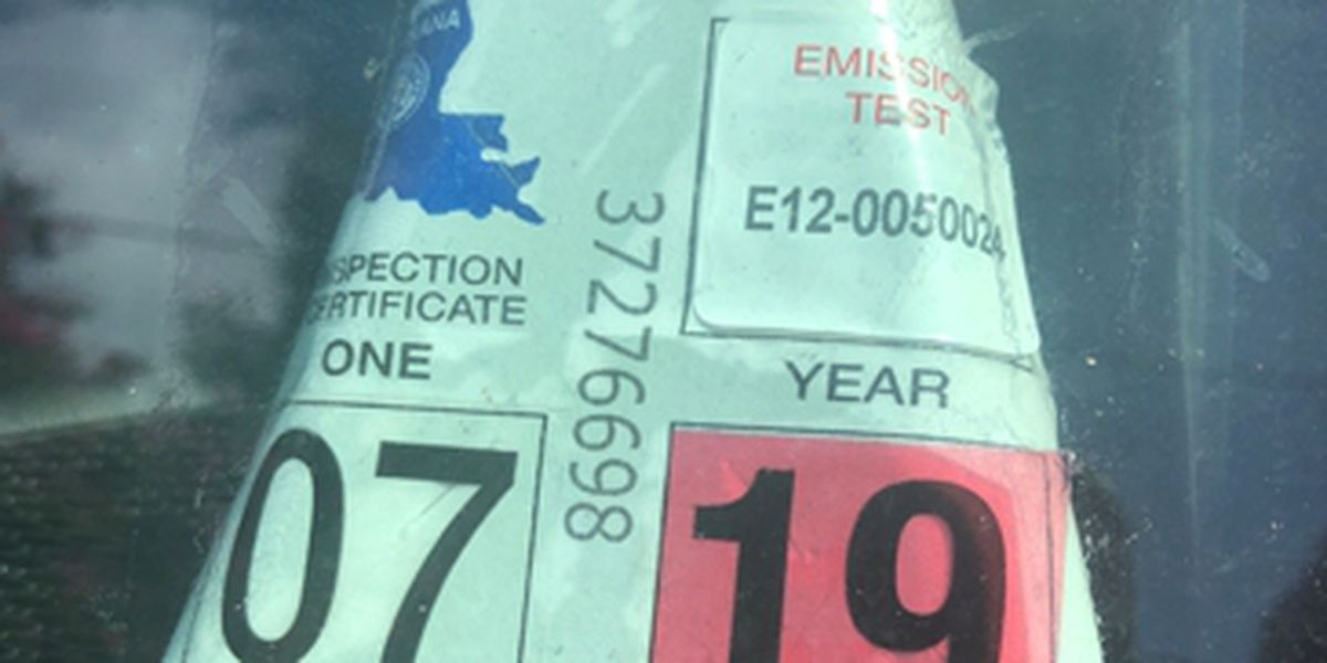 New inspection stickers coming 'no later' than January 2020