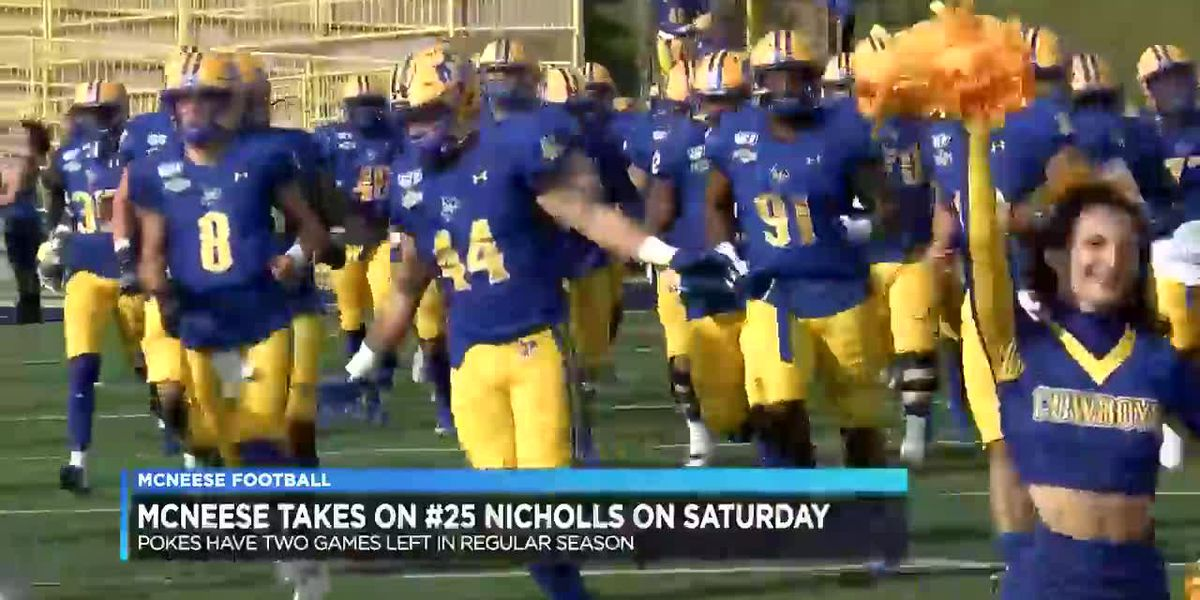 McNeese rested and focused coming out of open week