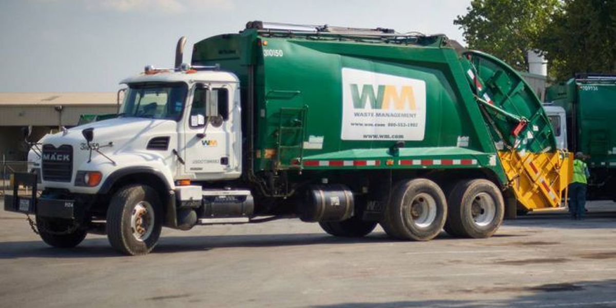 Trash pickup will run as scheduled for Calcasieu and Lake Charles residents