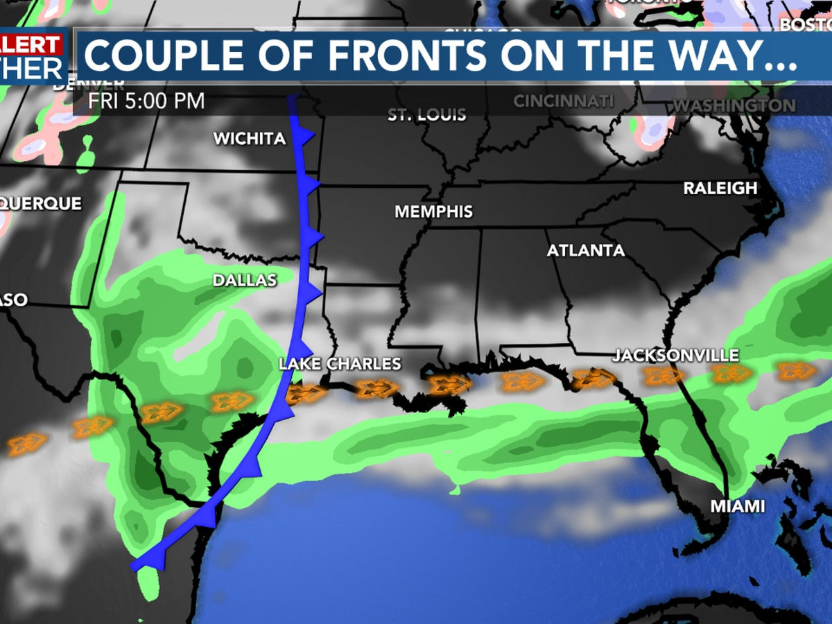 FIRST ALERT FORECAST: Warm and humid for now, but changes arrive later this week