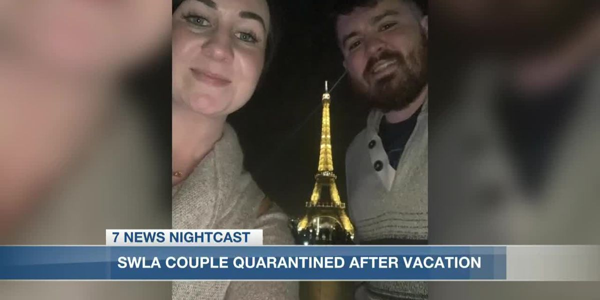 Local couple says they are under quarantine after testing positive for Coronavirus