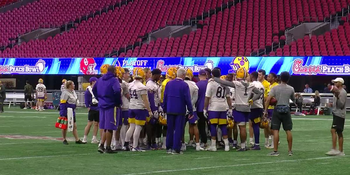 LSU holds final practice open to the media
