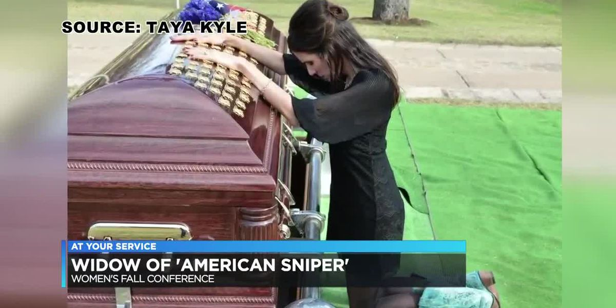 'American Sniper' widow says 'Don't let fear steal your joy.'