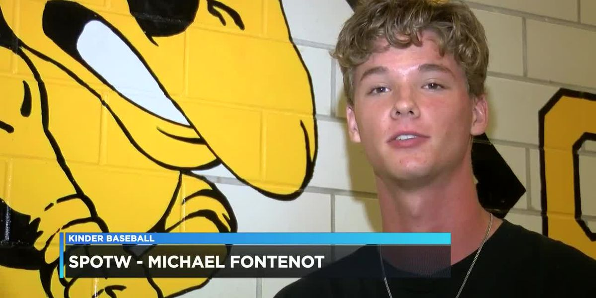 Sports Person of the Week - Michael Fontenot