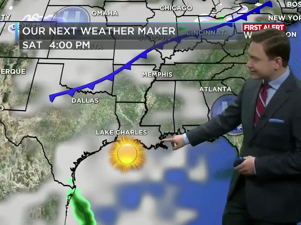 First Alert Forecast: Nice weather continues this weekend with warmer temperatures