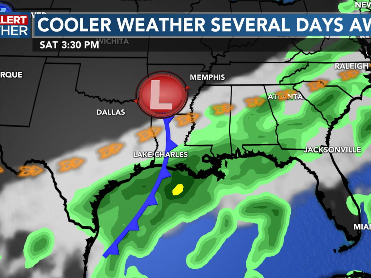 First Alert Forecast: Several cold fronts set to arrive over the next 10 days