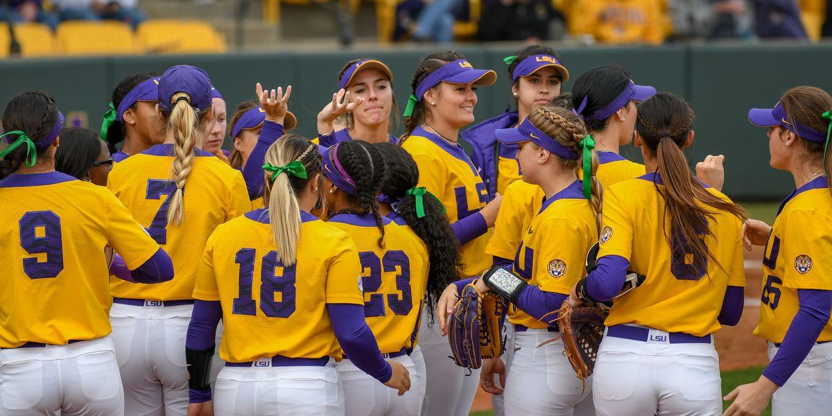 LSU softball hosts McNeese State