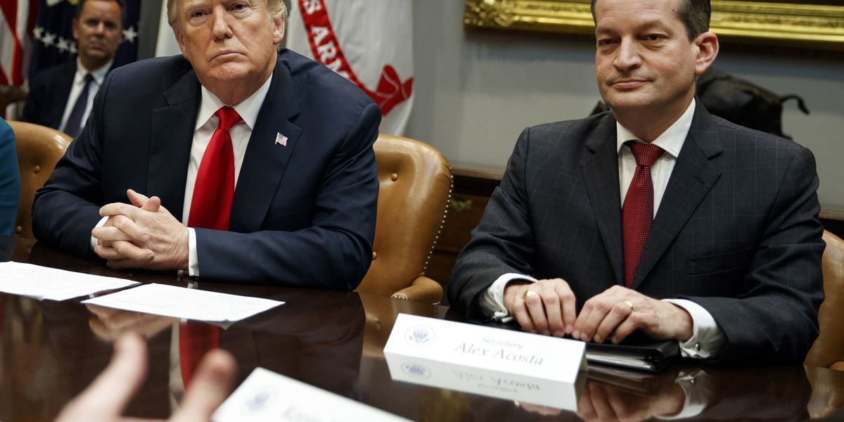 Labor Sec. Acosta refuses to resign, defends handling of Epstein case
