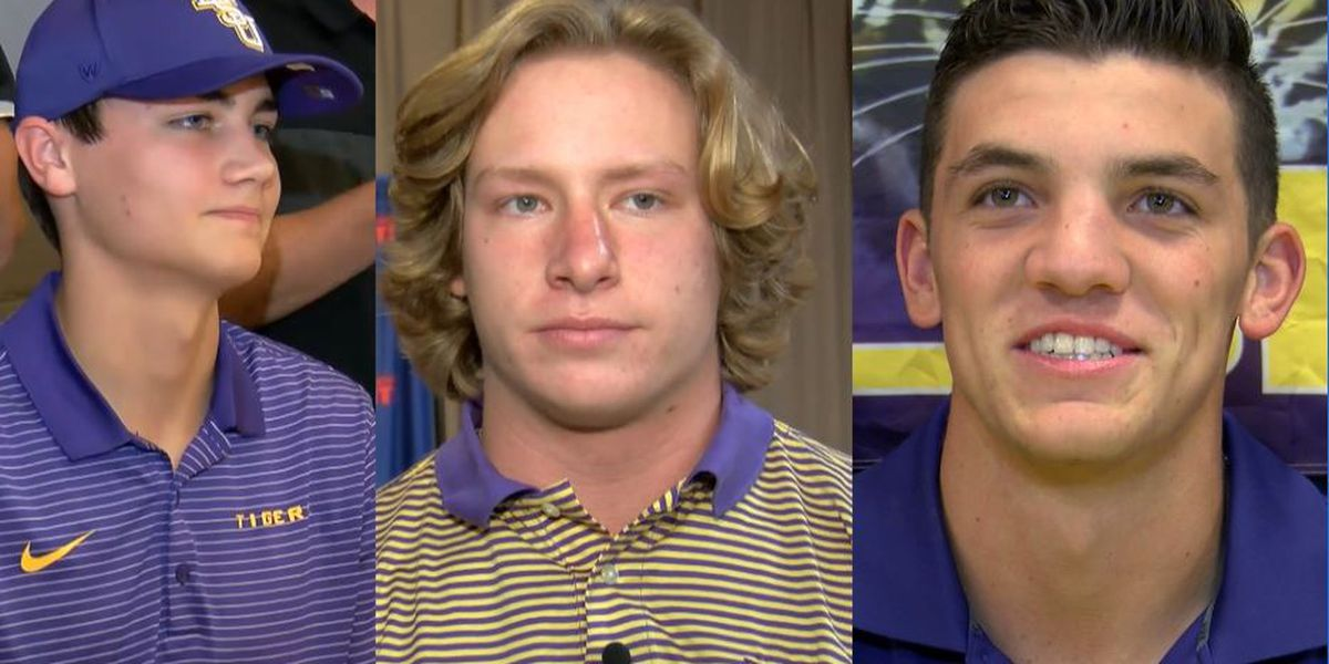 Mainieri breaks down all three Lake Area natives on LSU's roster