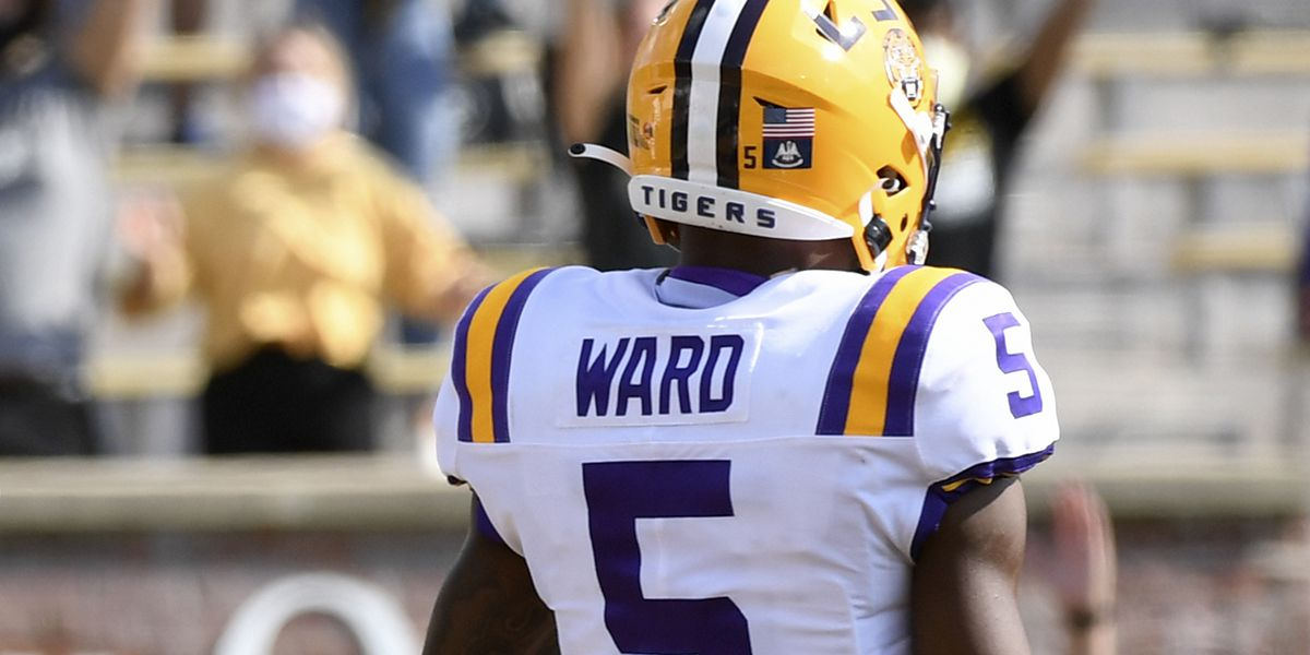 LSU CB Jay Ward makes 2 key plays in win over Arkansas
