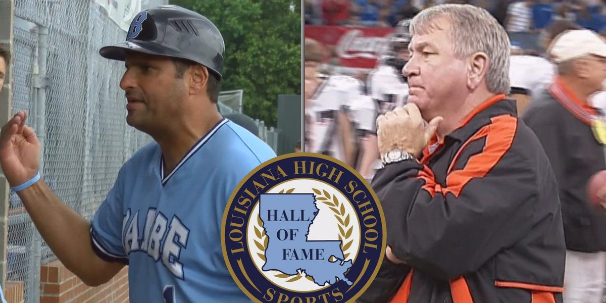 Glenn Cecchini and Max Caldarera to be inducted into the Louisiana High School Sports Hall of Fame 2018 class