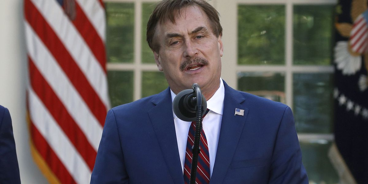 Dominion Voting Systems sues 'MyPillow Guy' for $1.3 billion