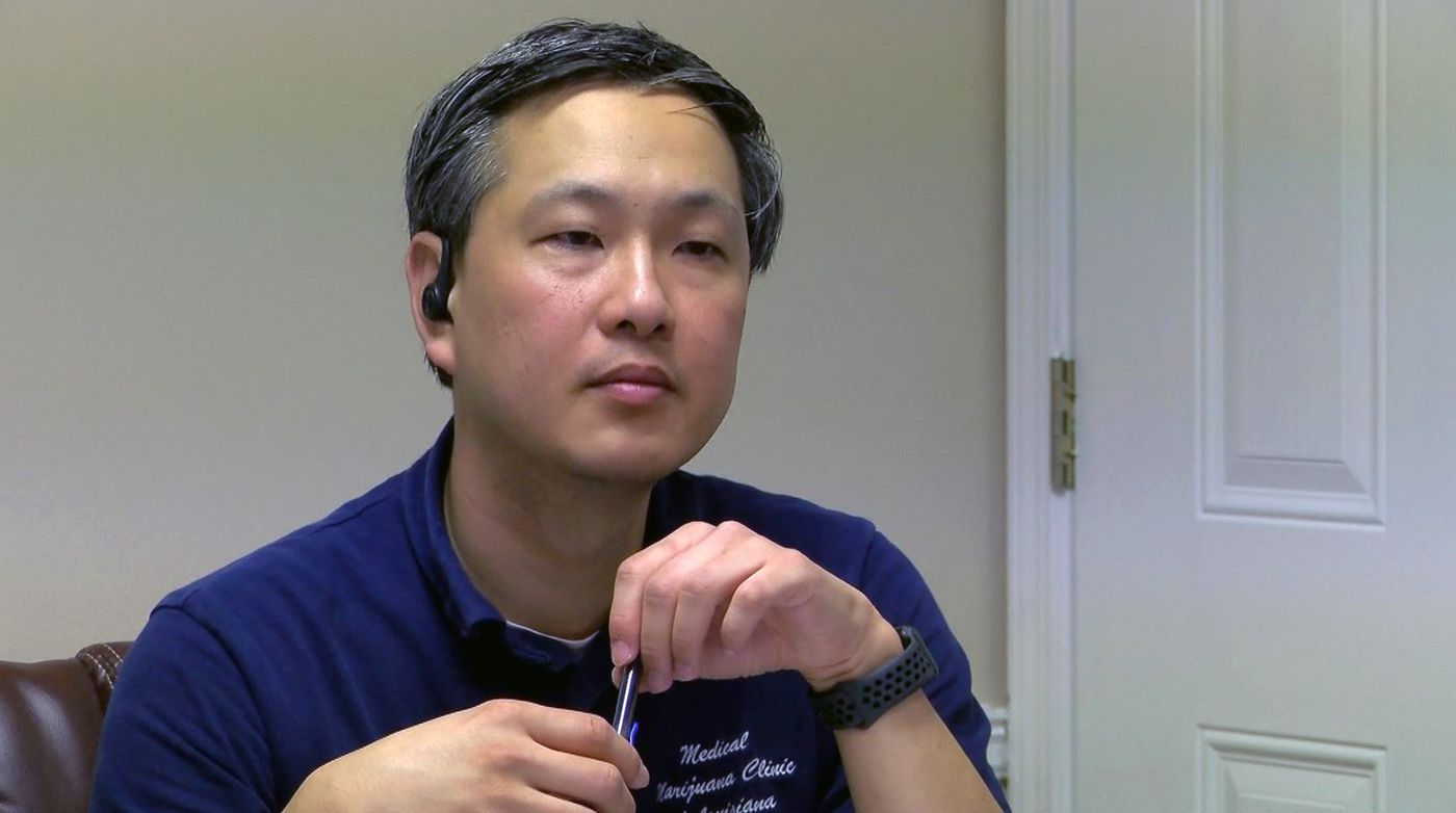 Dr. Victor Chou sees about 600 medical marijuana patients.