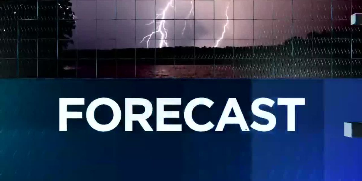 KPLC 7News Nightcast - Oct. 23, 2018 - Weather