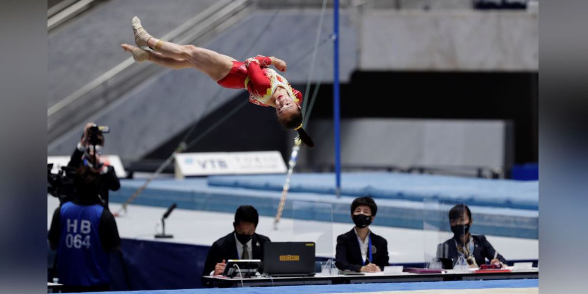 Tokyo holds 1-day gym meet to show Olympics may be possible