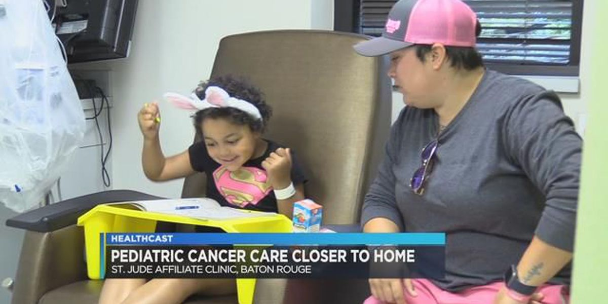 St. Jude Affiliate Clinic gives cancer care closer to home