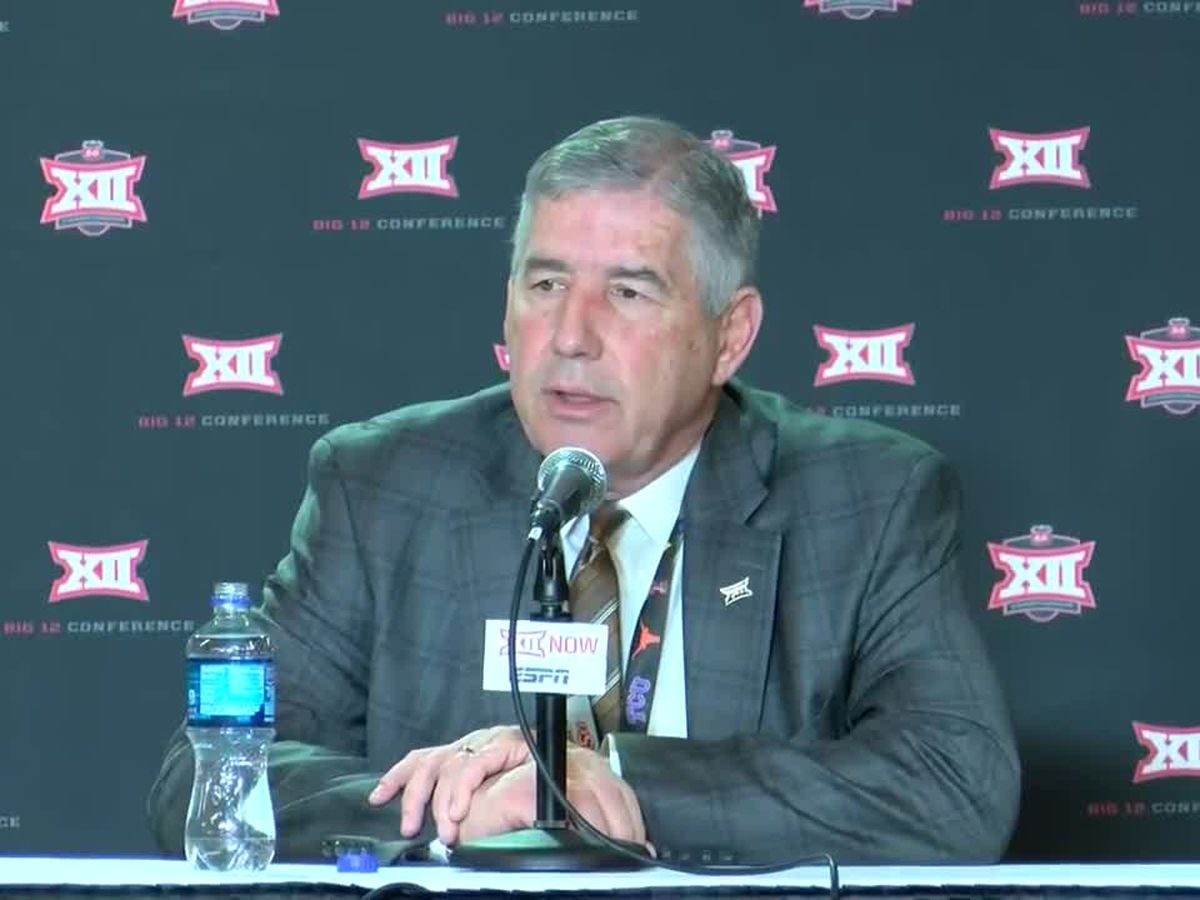 Big 12 officially announces it is moving forward with fall football