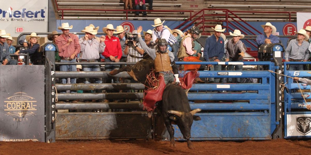 Sulphur native Kolby Stelly works on becoming a professional bull rider