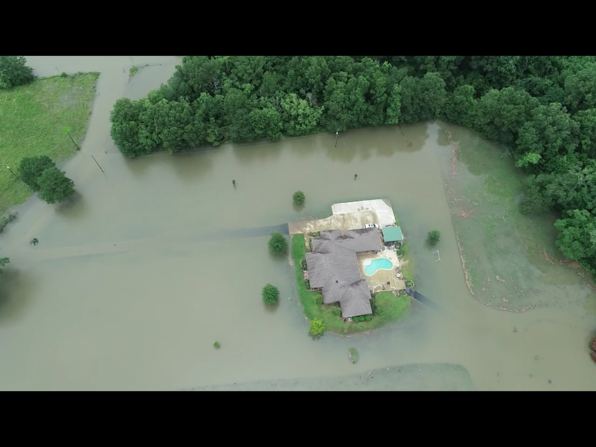 Remnants of Barry drench parts of SWLA, leaving roads impassable and some in need of rescue