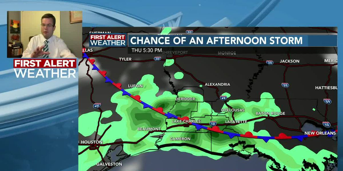 FIRST ALERT FORECAST: Hot and humid with just a few afternoon storms each day