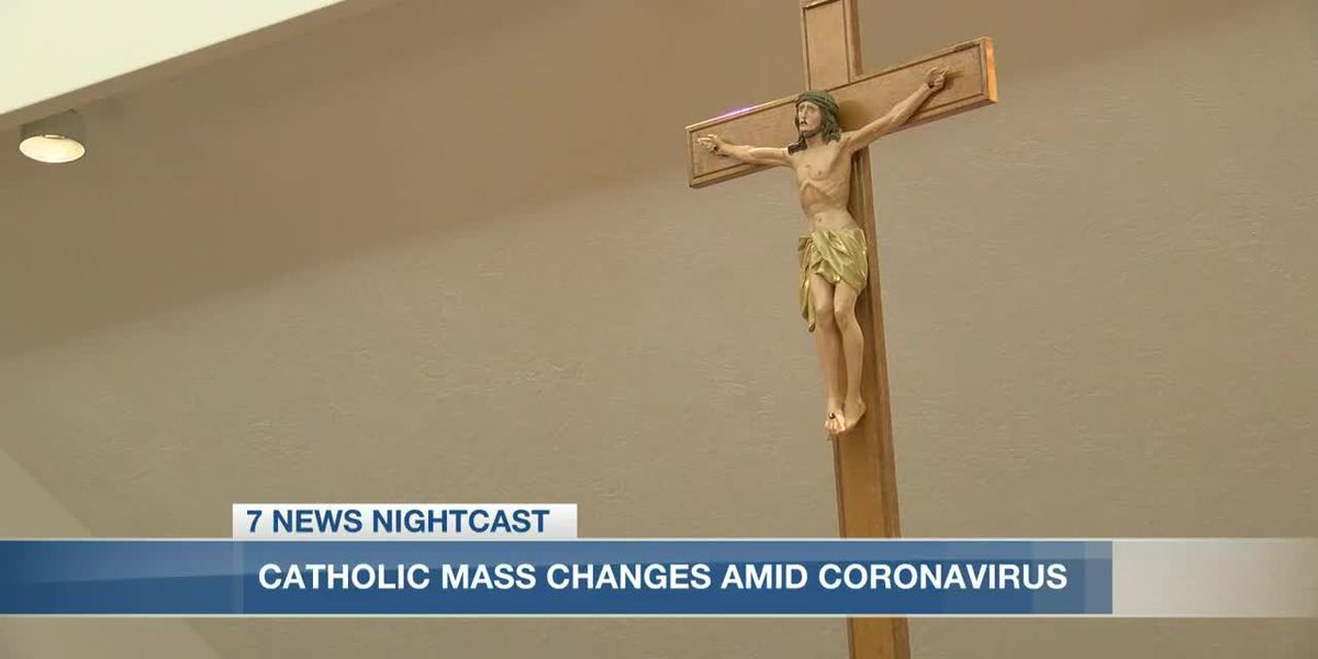 Lake Charles Diocese announces changes to Catholic masses amid coronavirus concerns