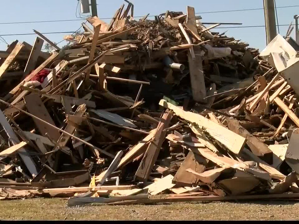 DeRidder completes removal of construction debris, pickup of vegetative debris still underway