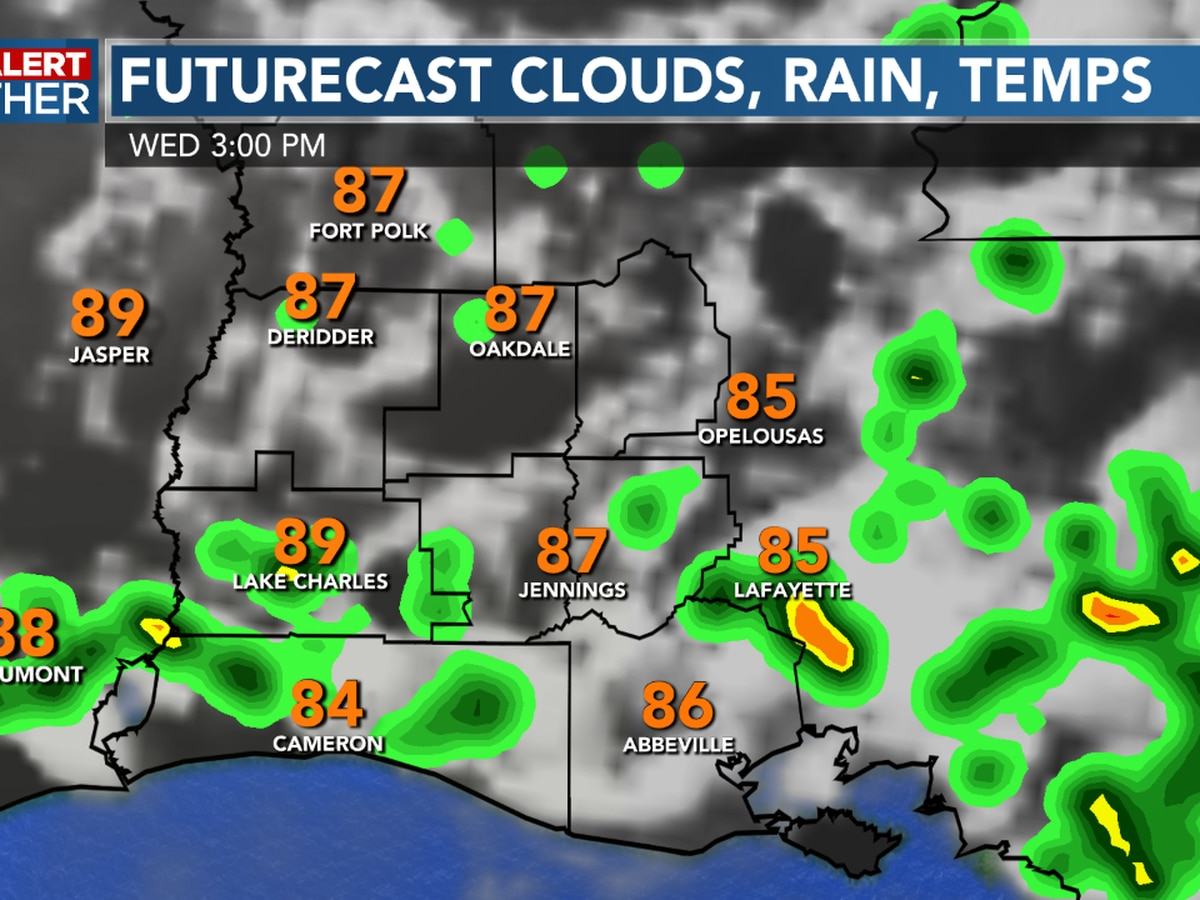 FIRST ALERT FORECAST: Tracking some afternoon storms, while keeping an eye on the tropics