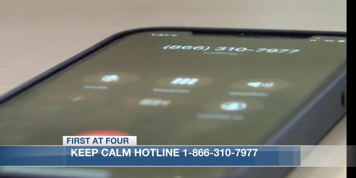 Keep Calm Hotline aims to inform and help alleviate stress