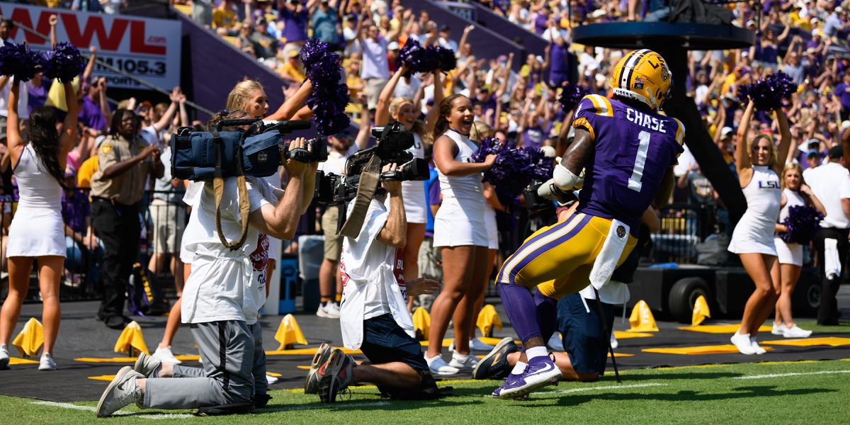 """This is what you come to LSU for;"" Coach O fired up for Tigers-Gators Saturday night"