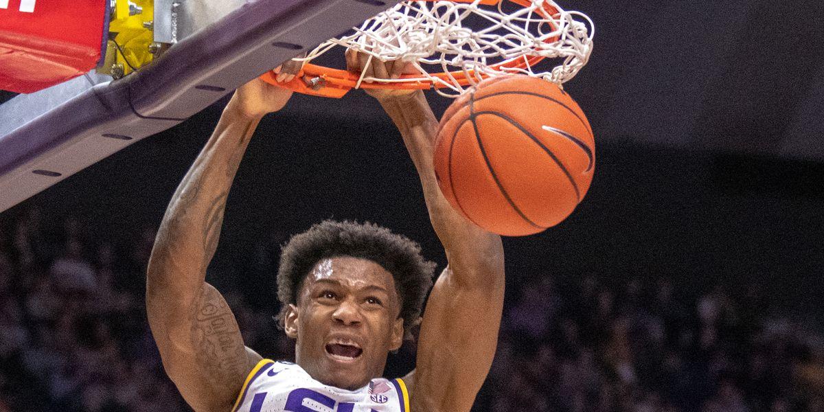 LSU remains undaunted against basketball heavyweights like Michigan State