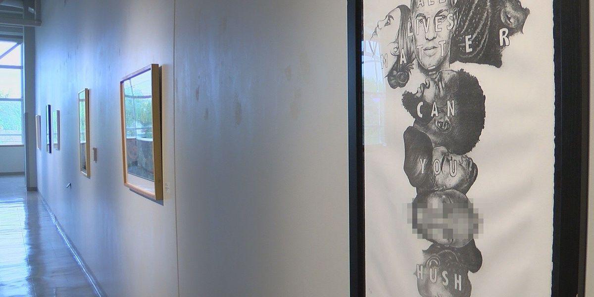Artwork with racial slur raises eyebrows at McNeese State University