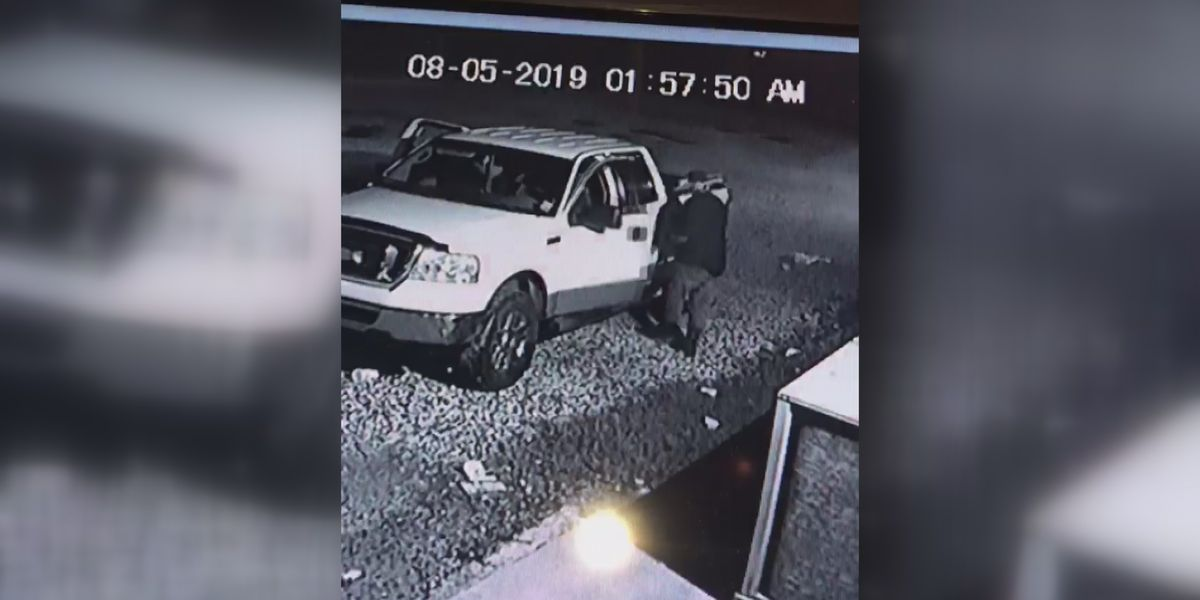 CAUGHT ON CAMERA: Popular spot in Sulphur hit with intricate burglary