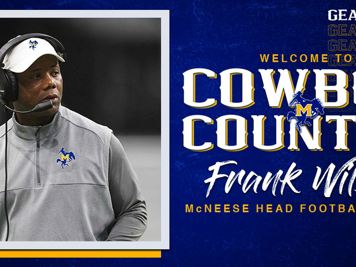 Frank Wilson hired as McNeese head football coach