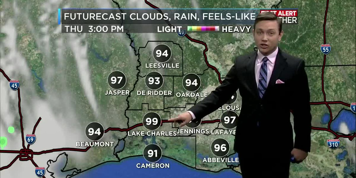NOON FORECAST UPDATE: Great weather but hot for this Memorial Day weekend