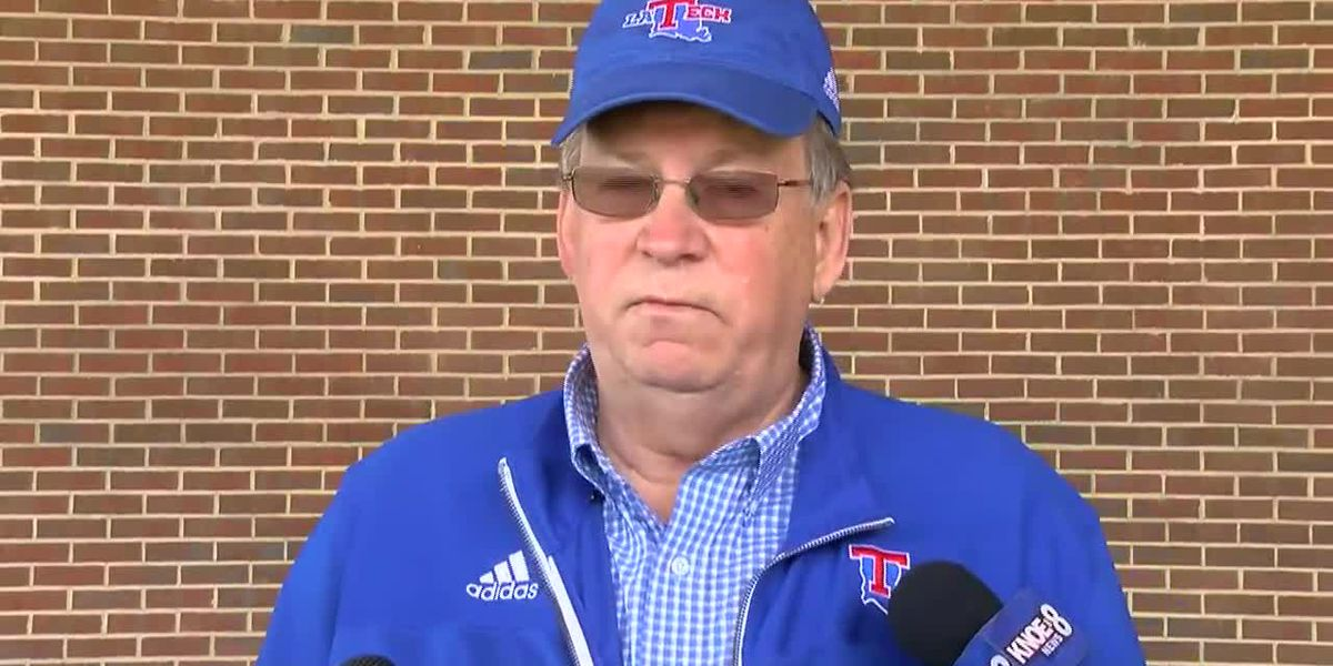 LA Tech president, athletic director address storm damage