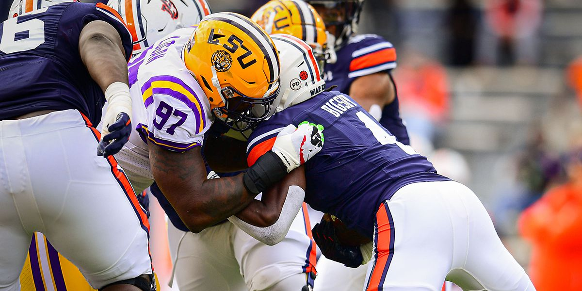 LSU DE Glen Logan announces return in 2021