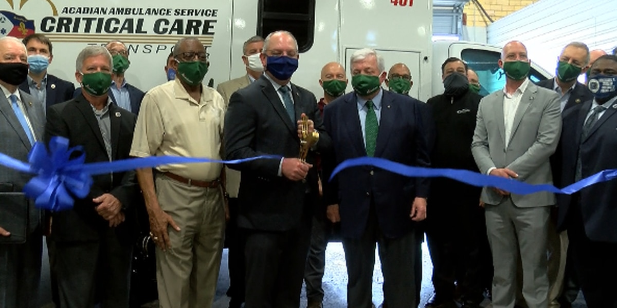 Acadian Ambulance new operations center signifies resilience at a time when most needed
