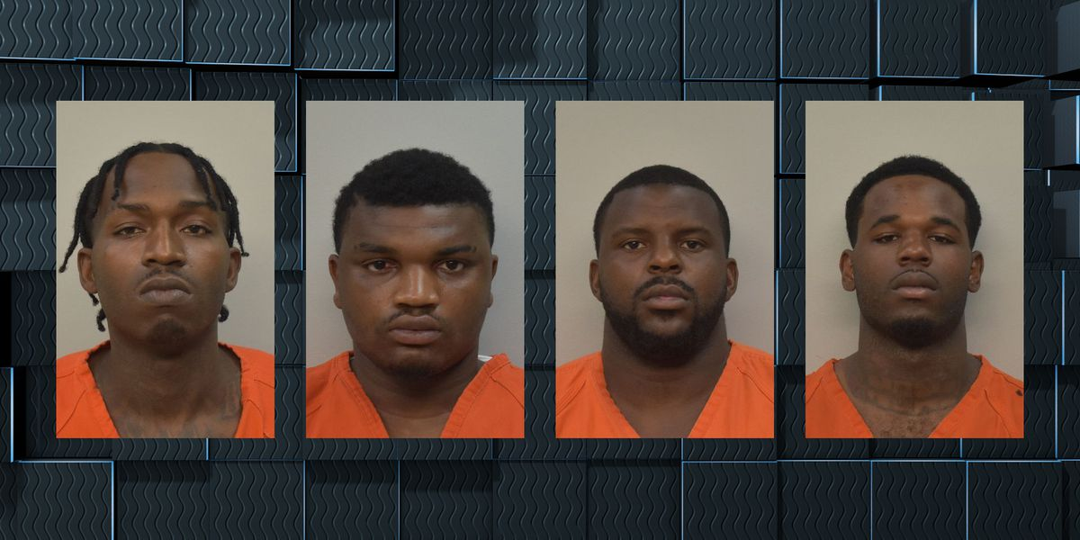 Four Texas men arrested in connection with robbery at jewelry store on Nelson Road