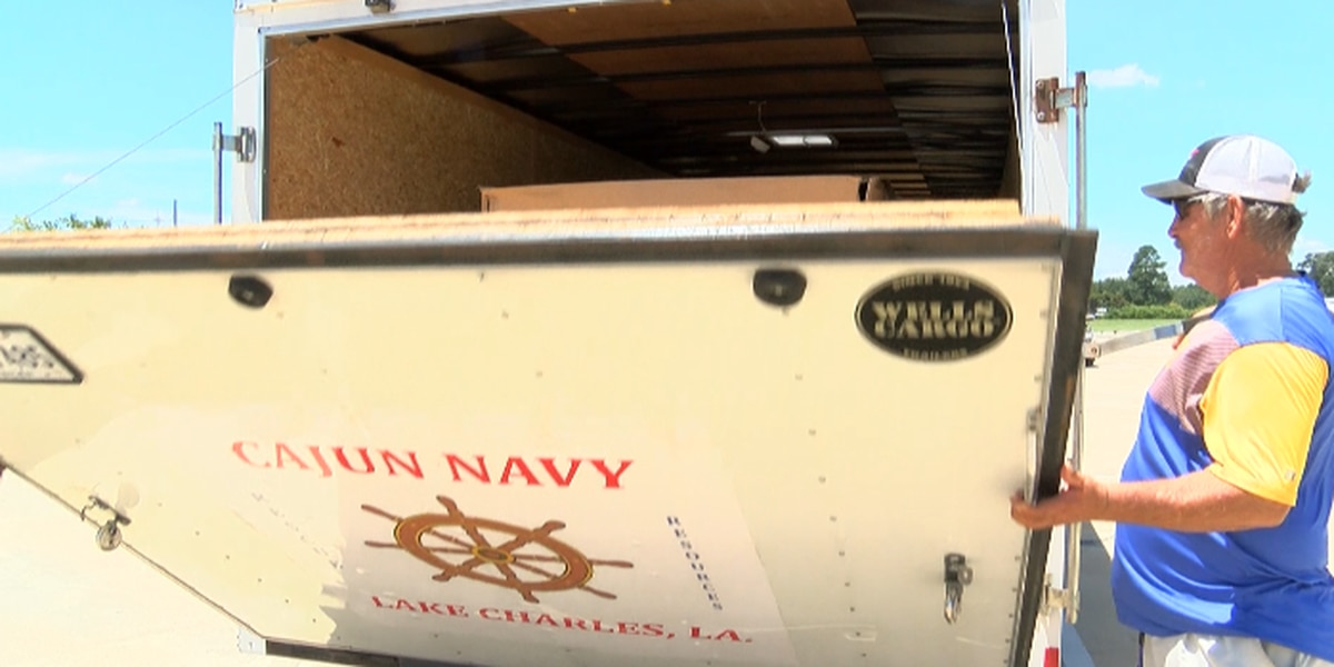 Cajun Navy Lake Charles mobilizing in preparation for Barry
