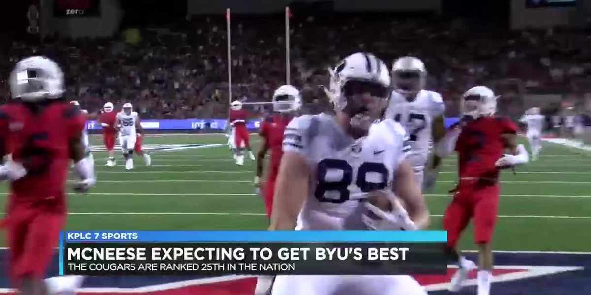 McNeese expecting to get BYU's best